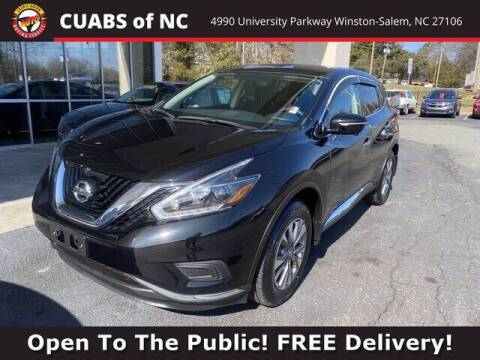 2018 Nissan Murano for sale at Credit Union Auto Buying Service in Winston Salem NC