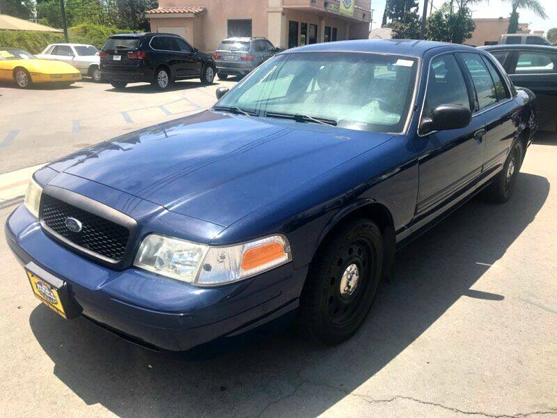 2011 Ford Crown Victoria for sale at Best Car Sales in South Gate CA