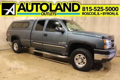 2007 Chevrolet Silverado 2500HD Classic for sale at AutoLand Outlets Inc in Roscoe IL