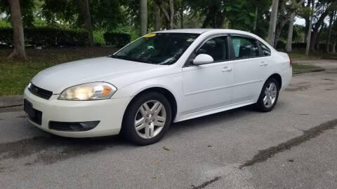 2011 Chevrolet Impala for sale at DELRAY AUTO MALL in Delray Beach FL
