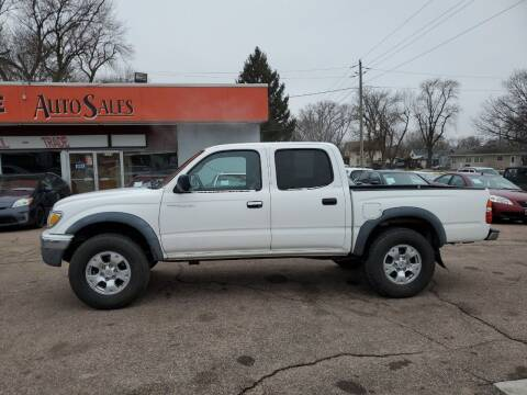 2002 Toyota Tacoma for sale at RIVERSIDE AUTO SALES in Sioux City IA