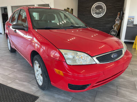 2007 Ford Focus for sale at Evolution Autos in Whiteland IN