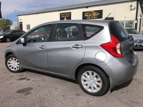 2015 Nissan Versa Note for sale at BELOW BOOK AUTO SALES in Idaho Falls ID
