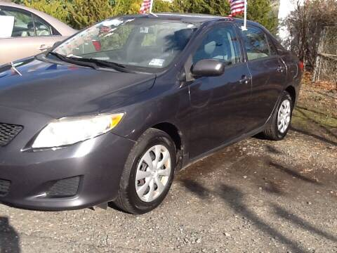 2010 Toyota Corolla for sale at Lance Motors in Monroe Township NJ