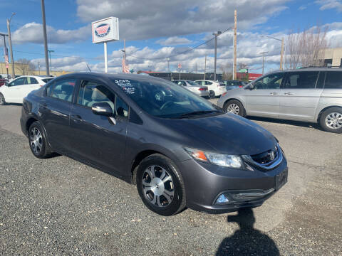 2013 Honda Civic for sale at Independent Auto Sales in Spokane Valley WA