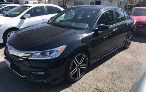 2016 Honda Accord for sale at Auto Emporium in Wilmington CA