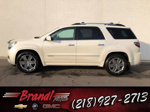 2013 GMC Acadia for sale at Brandl GM in Aitkin MN
