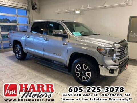 2018 Toyota Tundra for sale at Harr's Redfield Ford in Redfield SD