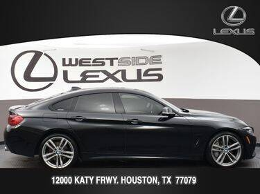 2018 BMW 4 Series for sale at LEXUS in Houston TX
