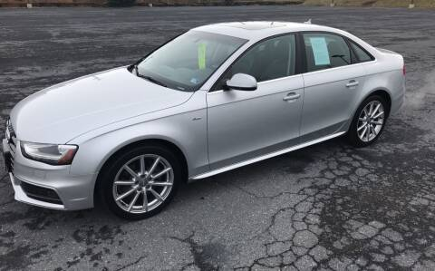 2014 Audi A4 for sale at Augusta Auto Sales in Waynesboro VA