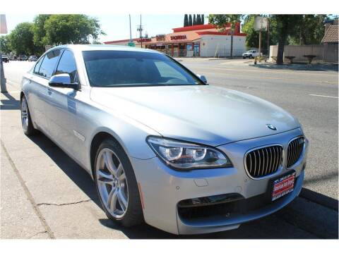2013 BMW 7 Series for sale at ATWATER AUTO WORLD in Atwater CA