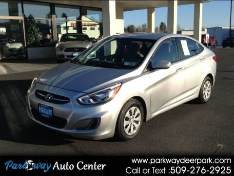 2015 Hyundai Accent for sale at PARKWAY AUTO CENTER AND RV in Deer Park WA