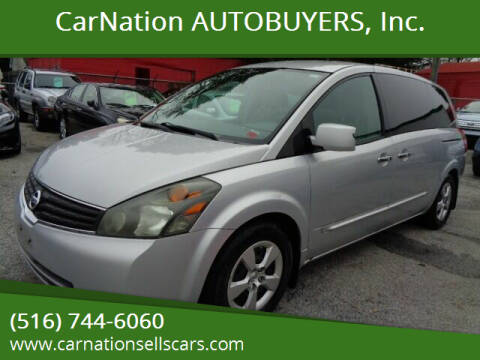 2007 Nissan Quest for sale at CarNation AUTOBUYERS, Inc. in Rockville Centre NY