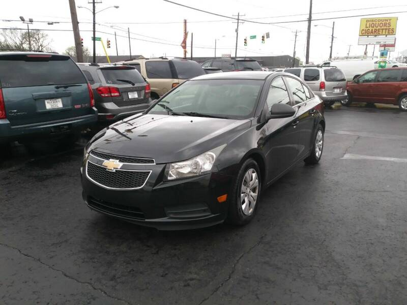 2012 Chevrolet Cruze for sale at Rucker's Auto Sales Inc. in Nashville TN