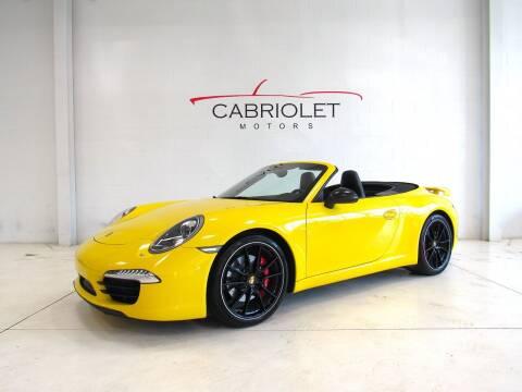 2012 Porsche 911 for sale at Cabriolet Motors in Morrisville NC