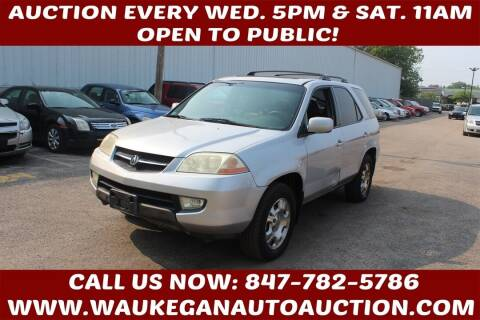 2002 Acura MDX for sale at Waukegan Auto Auction in Waukegan IL