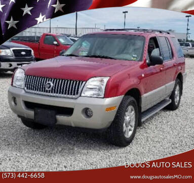 2003 Mercury Mountaineer for sale at Doug's Auto Sales in Columbia MO