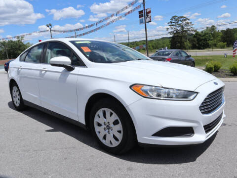 2014 Ford Fusion for sale at Viles Automotive in Knoxville TN