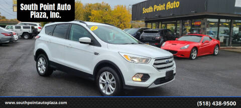 2018 Ford Escape for sale at South Point Auto Plaza, Inc. in Albany NY