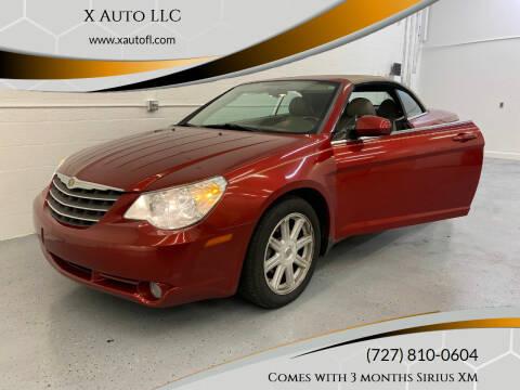 2008 Chrysler Sebring for sale at X Auto LLC in Pinellas Park FL