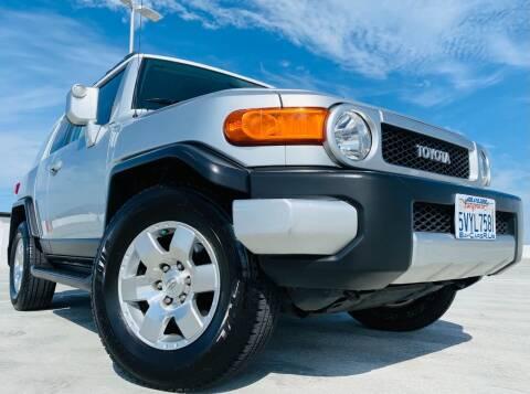 2007 Toyota FJ Cruiser for sale at Bay Cars R Us in San Jose CA