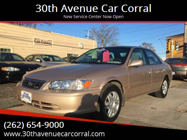2001 Toyota Camry for sale at 30th Avenue Car Corral in Kenosha WI