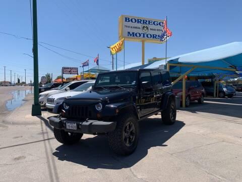 2011 Jeep Wrangler Unlimited for sale at Borrego Motors in El Paso TX