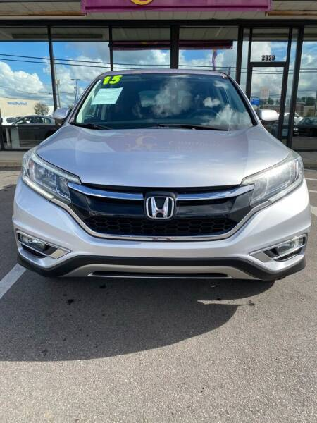 2015 Honda CR-V for sale at East Carolina Auto Exchange in Greenville NC