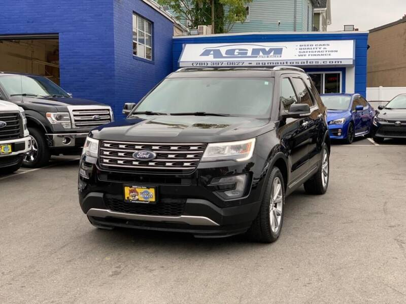 2017 Ford Explorer for sale at AGM AUTO SALES in Malden MA