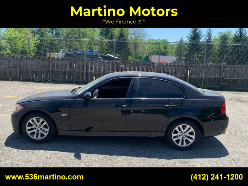 2007 BMW 3 Series for sale at Martino Motors in Pittsburgh PA
