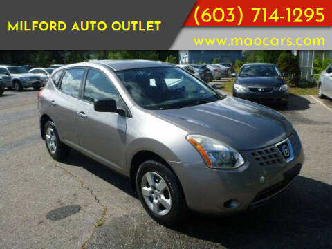 2008 Nissan Rogue for sale at Milford Auto Outlet in Milford NH