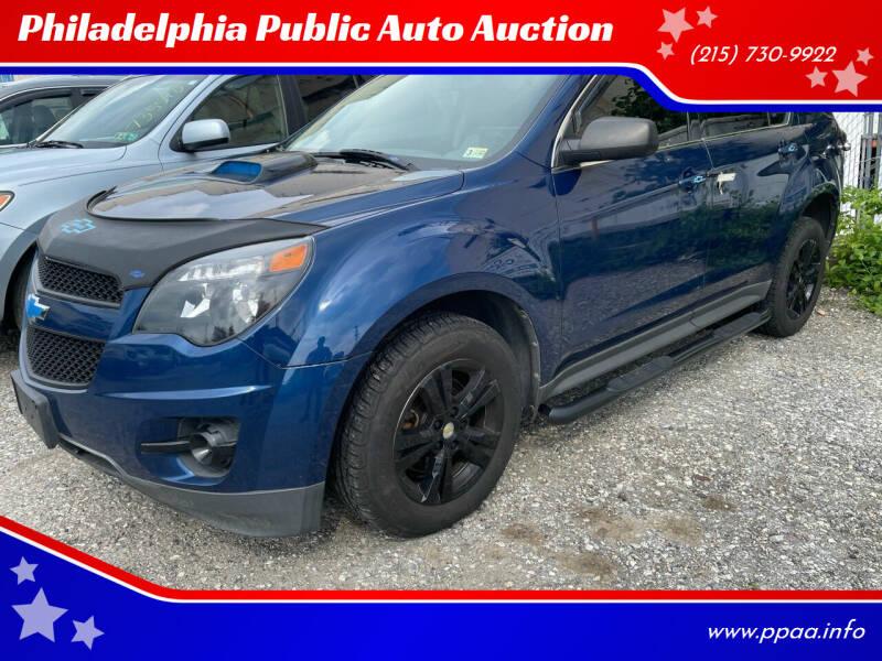 2010 Chevrolet Equinox for sale at Philadelphia Public Auto Auction in Philadelphia PA