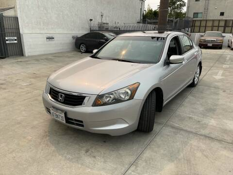 2008 Honda Accord for sale at Galaxy of Cars in North Hollywood CA