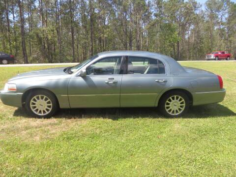 2006 Lincoln Town Car for sale at Ward's Motorsports in Pensacola FL