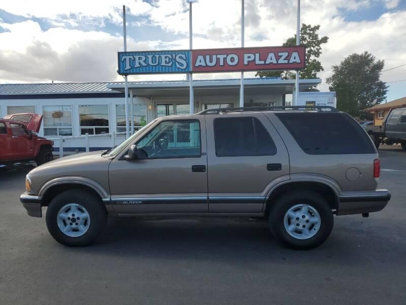 1996 Chevrolet Blazer for sale at True's Auto Plaza in Union Gap WA
