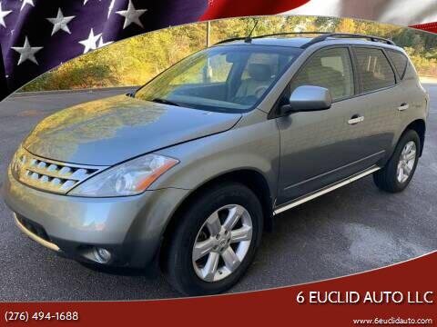 2007 Nissan Murano for sale at 6 Euclid Auto LLC in Bristol VA