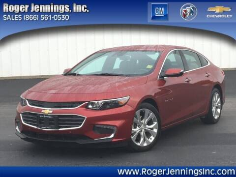 2017 Chevrolet Malibu for sale at ROGER JENNINGS INC in Hillsboro IL