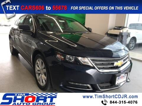 2019 Chevrolet Impala for sale at Tim Short Chrysler in Morehead KY