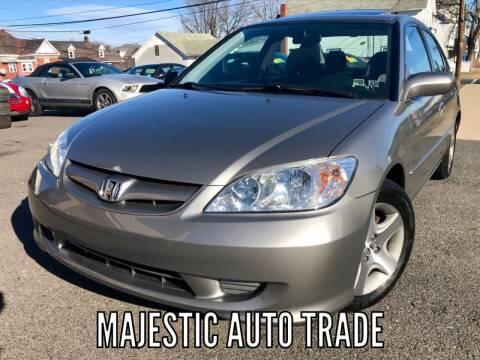 2004 Honda Civic for sale at Majestic Auto Trade in Easton PA