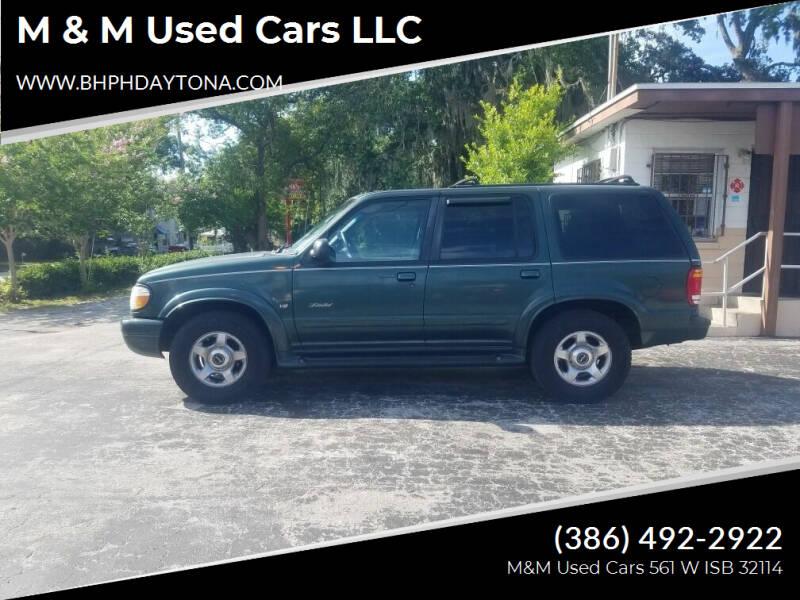 1999 Ford Explorer for sale at M & M Used Cars LLC in Daytona Beach FL