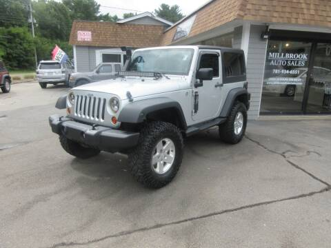 2011 Jeep Wrangler for sale at Millbrook Auto Sales in Duxbury MA