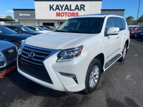 2016 Lexus GX 460 for sale at KAYALAR MOTORS in Houston TX