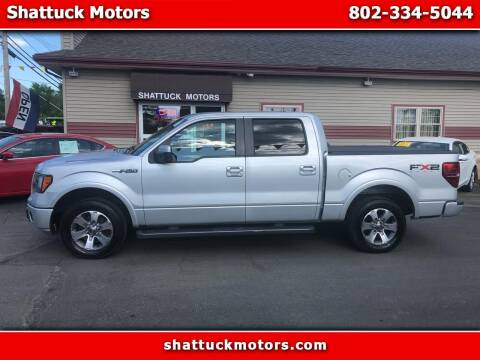 2011 Ford F-150 for sale at Shattuck Motors - NEKtrucks.com in Newport VT