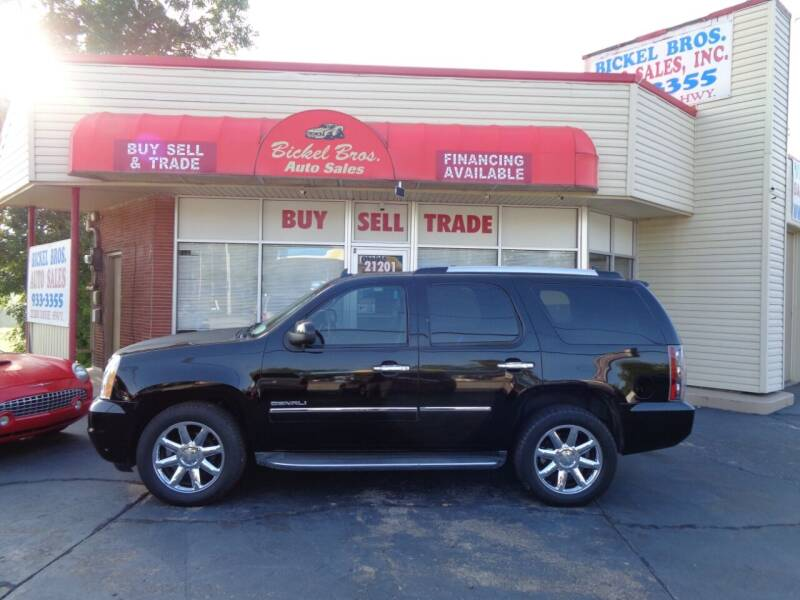 2011 GMC Yukon for sale at Bickel Bros Auto Sales, Inc in Louisville KY