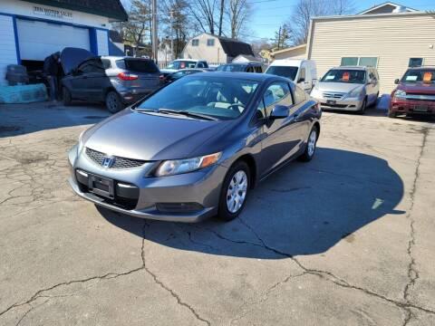 2012 Honda Civic for sale at MOE MOTORS LLC in South Milwaukee WI