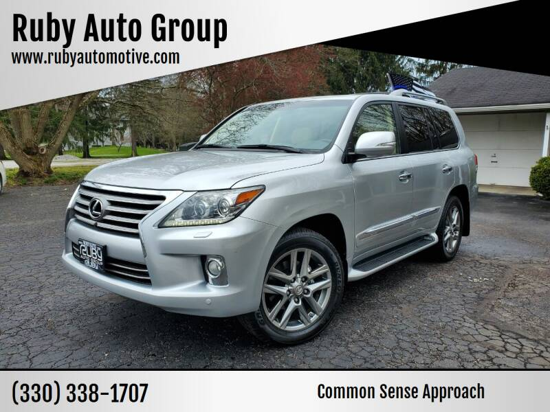 2013 Lexus LX 570 for sale at Ruby Auto Group in Hudson OH