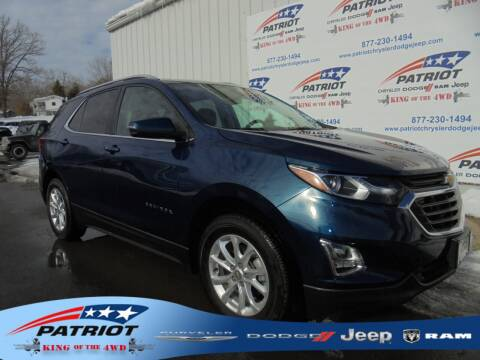 2019 Chevrolet Equinox for sale at PATRIOT CHRYSLER DODGE JEEP RAM in Oakland MD
