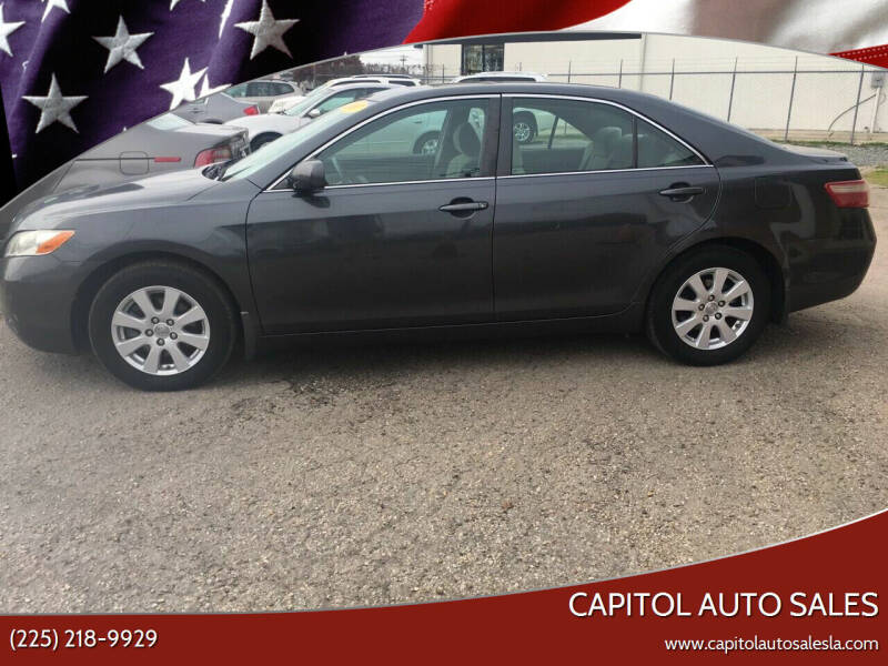 2007 Toyota Camry for sale at CAPITOL AUTO SALES LLC in Baton Rouge LA