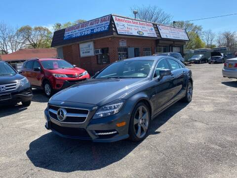 2012 Mercedes-Benz CLS for sale at American Best Auto Sales in Uniondale NY
