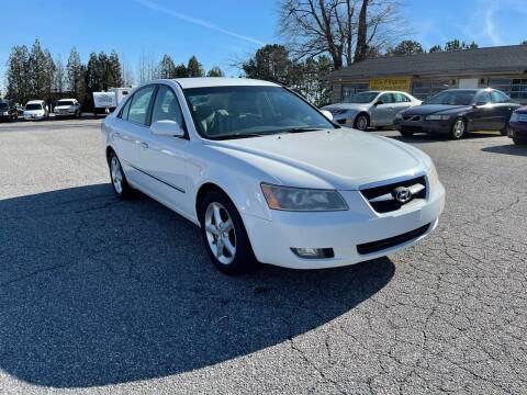 2008 Hyundai Sonata for sale at Hillside Motors Inc. in Hickory NC